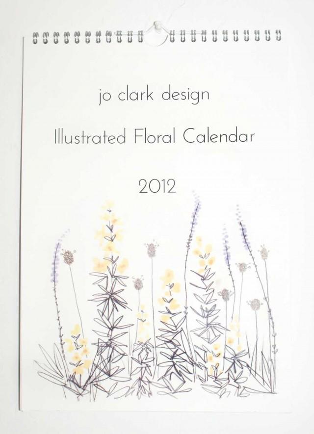 jo clark design illustrated calendar