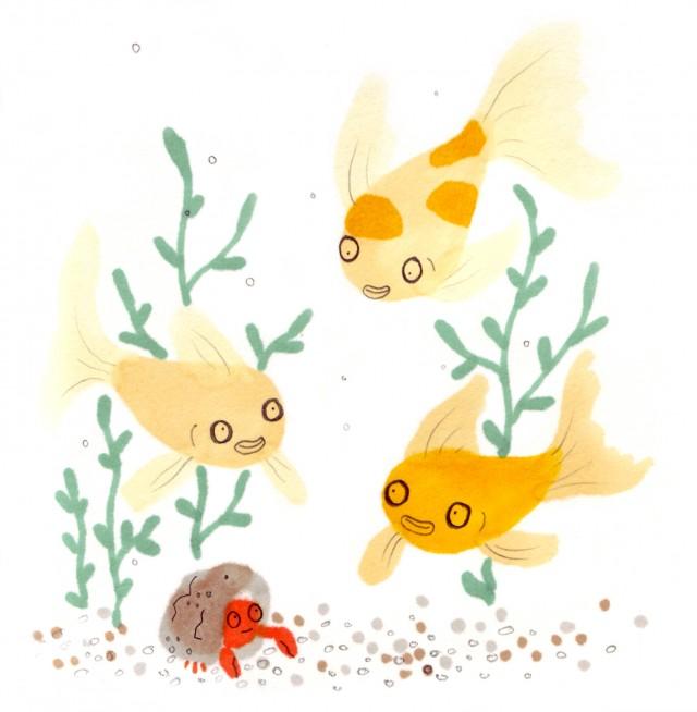 jo clark gold fish