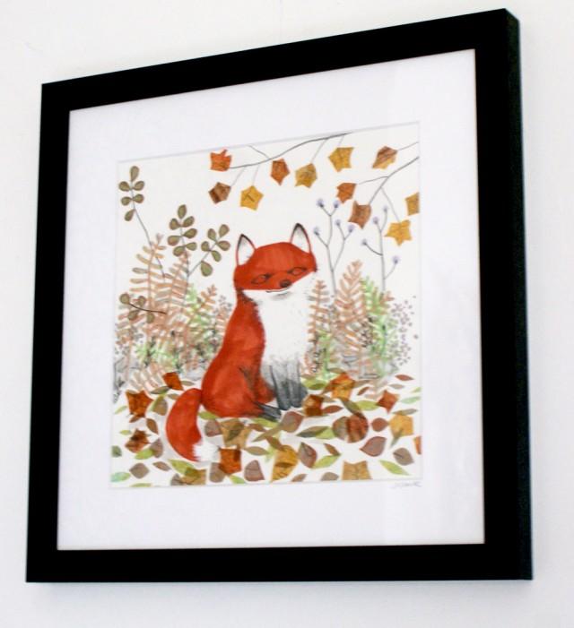 jo clark fox illustration