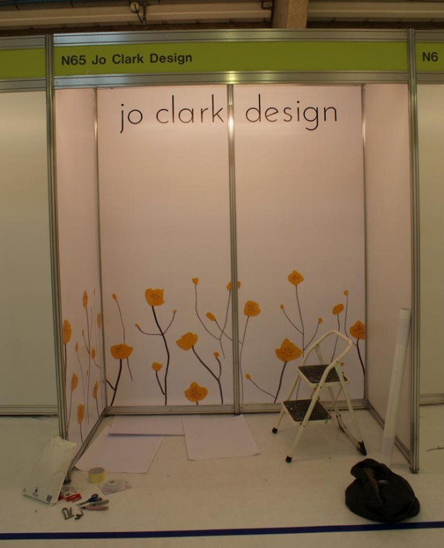 Jo Clark Design banner display