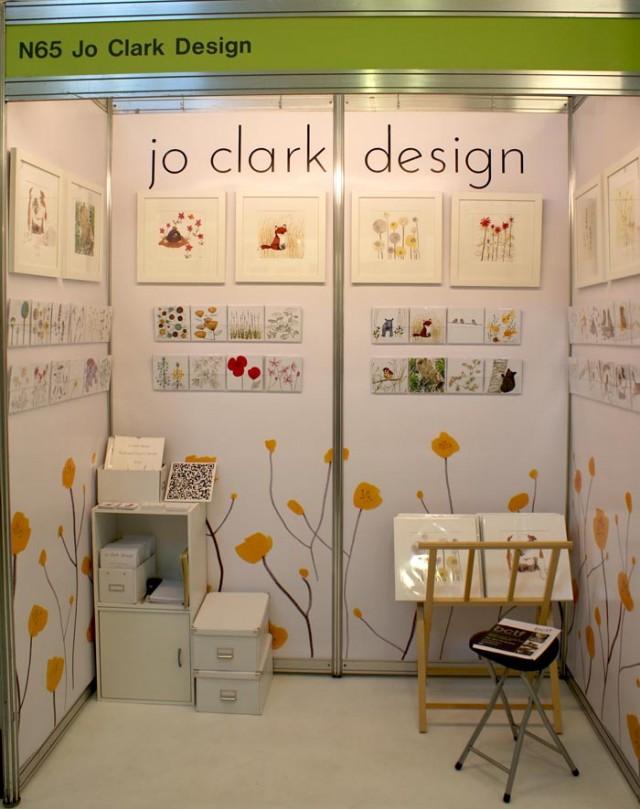 jo clark design finished display