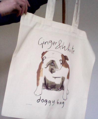 Ginger&whitedoggybagshot