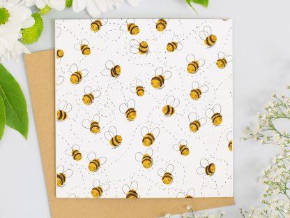 honey bee card