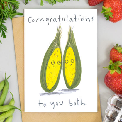 Congratulations to you both greetings card engagement card wedding card