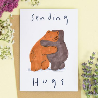 Sending Bear Hugs Card