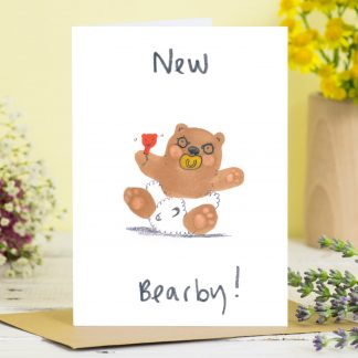 New Baby Bear Card