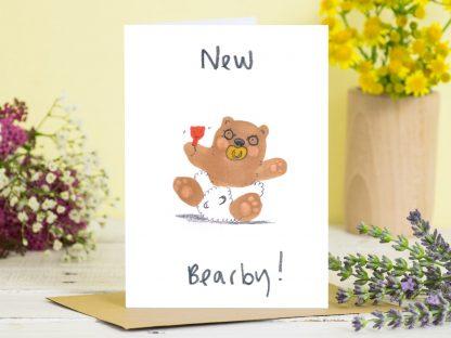 New Baby Bear Card