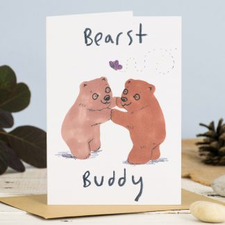 Bears Best friends card