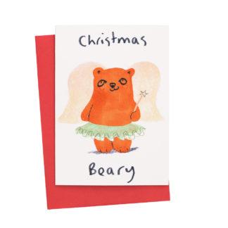 Bear Christmas Card