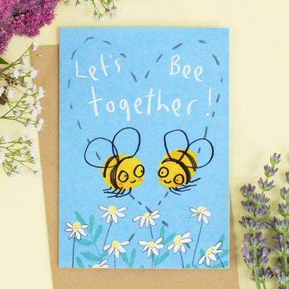 Lets Be Together card