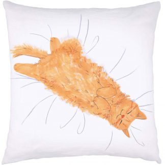 Cat Nap Cushion Ginger