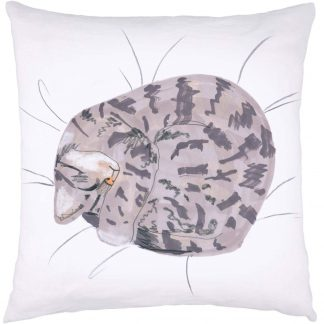 Cat Nap Cushion Tabby