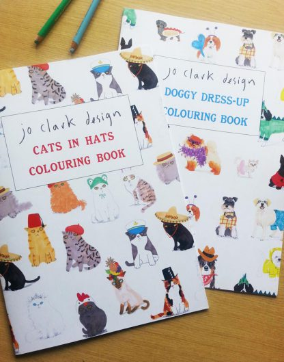 Colouring Books Set Of Two