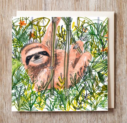 Sloth In The Jungle