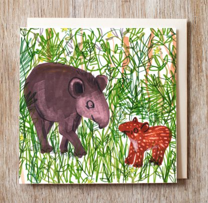 Tapir In The Jungle