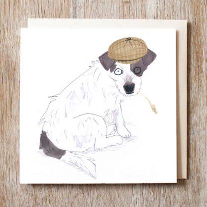 Farmer Jack Russel Card