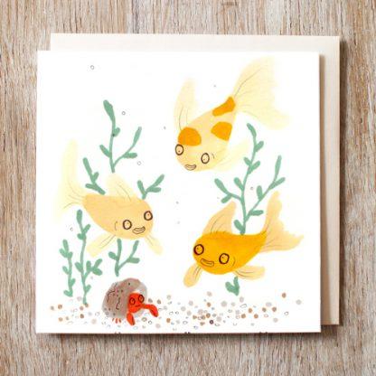 Goldfish Friend's Card