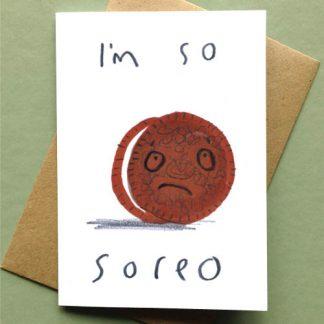 I'm So Soreo Card