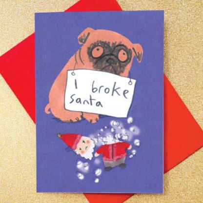 I Broke Santa