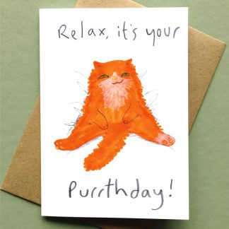 Relax It's Your Purrthday