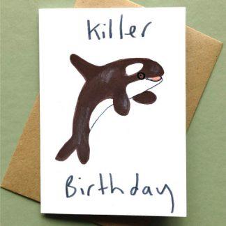 Killer Birthday Card