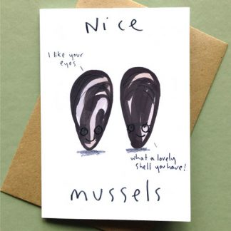 Nice Mussels Card