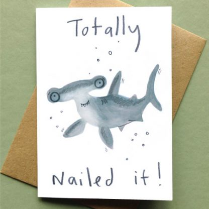 Totally Nailed It Card