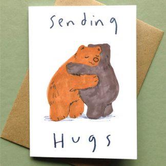 Sending Bear Hugs Card