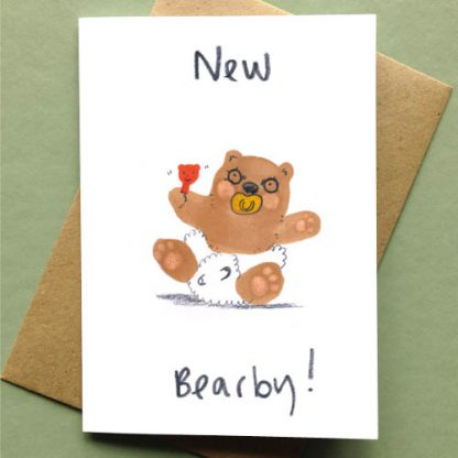 New Bearby New Baby card