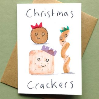 Christmas Crackers Christmas Card
