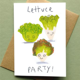 Lettuce Party Card