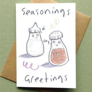 Seasonings Greetings Card