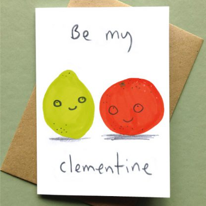 Be My Clementine Card