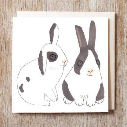 Bunny Rabbits Card