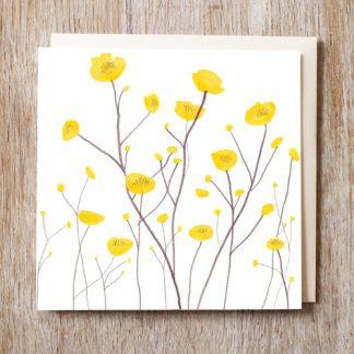 Buttercups Card