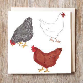 Chickens Card