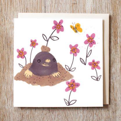 Hello Mole Card