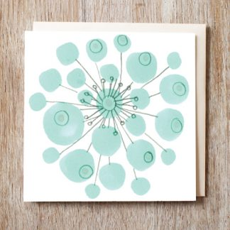 Snowflake Berry Card