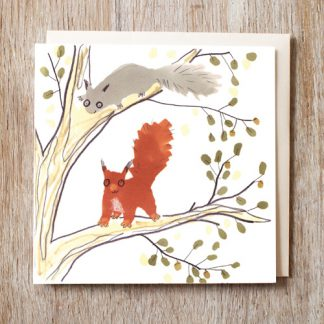 Squirrels Card