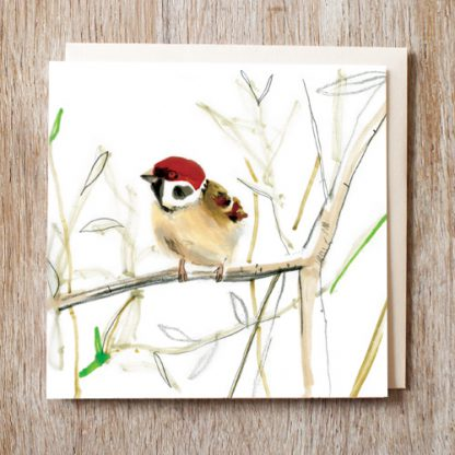 Tree Sparrow card