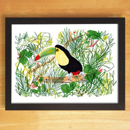 Toucan In The Jungle