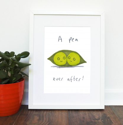 A Pea Ever After Print