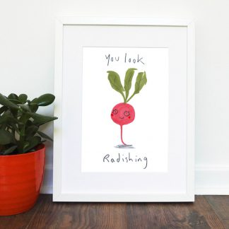You Look Radishing Print