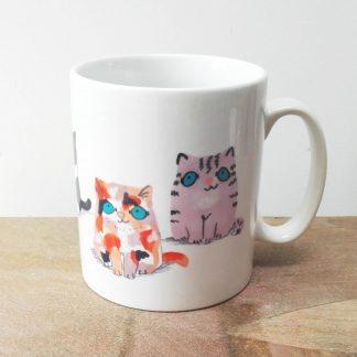 Cat Mug Kittens