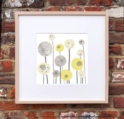 Seed Spheres Art Print