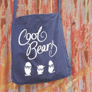 Recycled Sling Tote Bag Cool Beans