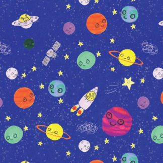 cosmic space gift wrap