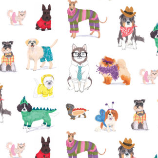 doggy dress up gift wrap