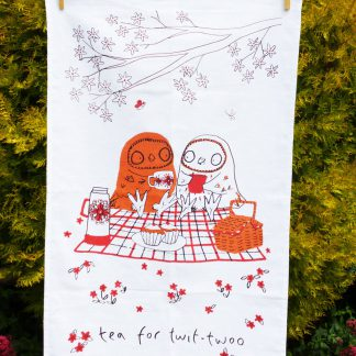 Tea For Twit-Twoo Tea Towel