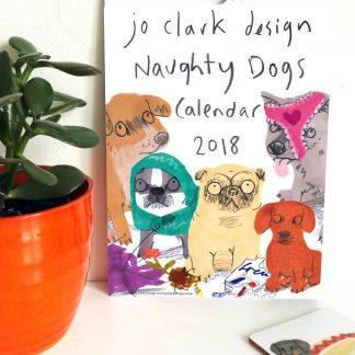Naughty Dogs 2018 Calendar
